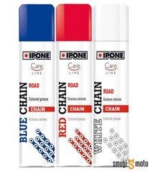 Barwiący smar do łańcucha Ipone Spray Chain, 250ml (różne kolory)