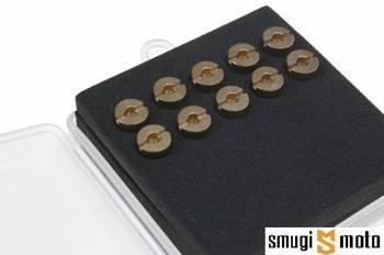 Dysze główne Dellorto 6mm, zestaw 10szt (różne rozmiary)