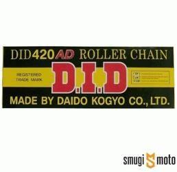 Łańcuch napędowy DID420AD (różne długości)