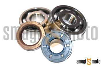 Łożyska wału i uszczelniacze SMG Racing Metal, Minarelli AM (Koyo + Corteco)