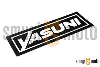 Naklejka końcówki wydechu Yasuni 170x38mm