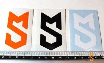 """Naklejka z symbolem """"S"""" Smugi-Moto, 31x60mm, ploter (rózne kolory)"""