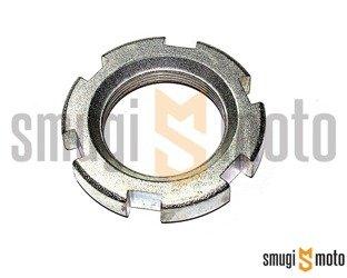 Nakrętka łożyska główki ramy, Yamaha TZR 50 '03-12, Aerox '01-12. Jog '05-12