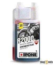 Olej Ipone R2000RR (R2000RS) 2T, truskawka,  1L (półsyntetyk)