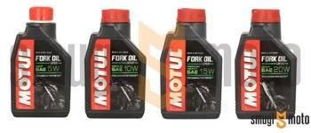 Olej do amortyzatorów Motul, 1 litr (różne lepkości)