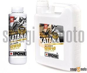 Olej silnikowy Ipone Full Power Katana 10W40 4T, 100% syntetyk (różne pojemności)