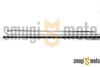 """Szprycha 17"""", od strony zębatki, Aprilia SX / Derbi Senda SM / Gilera SMT"""