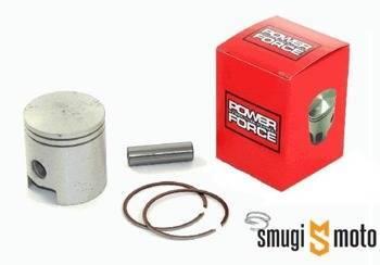 Tłok kompletny Power Force 70cc, Minarelli AM, rozstaw zamków 22mm (różne rozmiary)