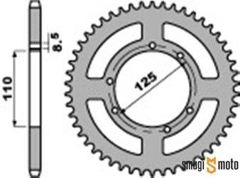 Zębatka tylna PBR [428], Sherco 50 SM, Honda CRF 50, HM 50 (różne rozmiary)