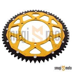 Zębatka tylna ZF Sprockets [428] 60z, dual, złota, Aprilia RS4 50/125, Ducati Monster 916/996/998
