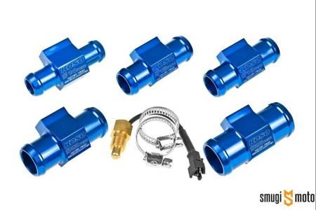 Adapter czujnika temperatury z czujnikiem Koso, na wąż, PT1/8 (różne średnice)