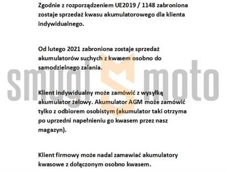 Akumulator żelowy Landport, GB4L-B 12V 4AH 120x71x91, bezobsługowy (zalany)