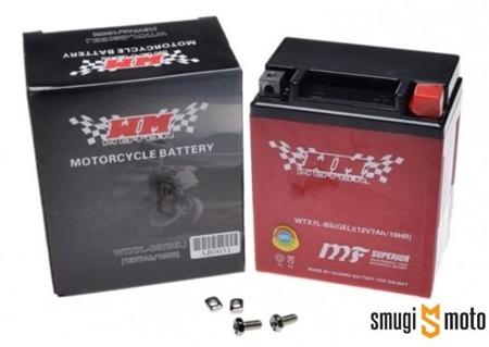 Akumulator żelowy WM YTX7L-BS + kaucja za akumulator 30zł