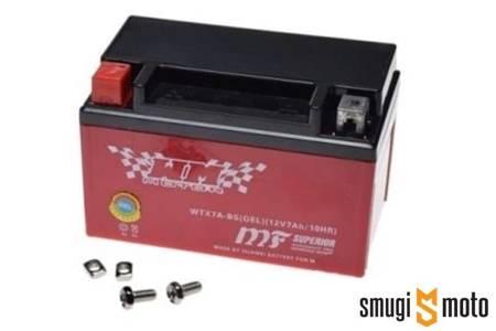 Akumulator żelowy WTZ12S (YTZ12S) 150x87x110 + kaucja za stary akumulator