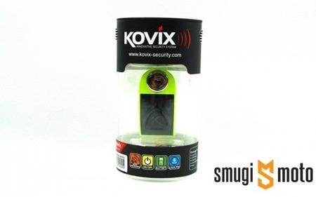 Blokada tarczy hamulcowej z alarmem KOVIX KD6 (różne kolory)