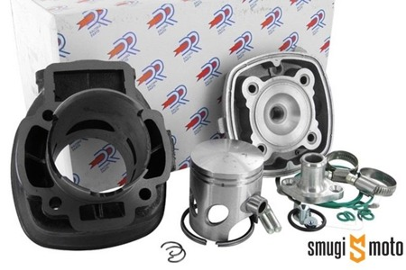 Cylinder Kit DR Evolution 70cc, Gilera / Piaggio LC (od 2000 roku, z króćcem przewodu wody)