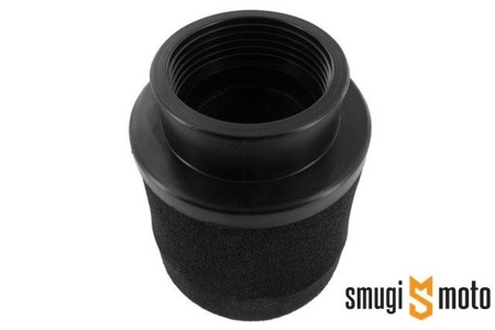 Filtr powietrza Motoforce Racing, d.50mm, czarny (np. do Keihin PWK 19-30mm)
