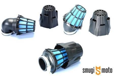 Filtr powietrza Polini Air Box, czarny, d.32mm (różne kąty)