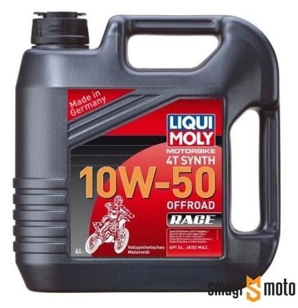Olej Liqui Moly Synth 10W50 Offroad 4T 4 litry (100% syntetyk)