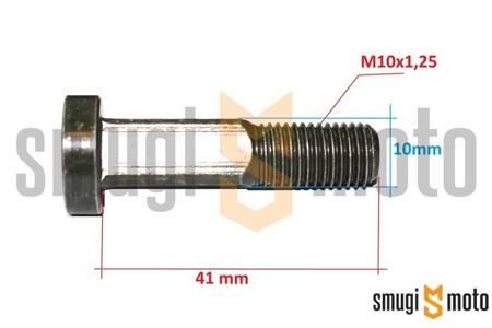 Śruba zawieszenia silnika, Minarelli leżące (kwadrat)